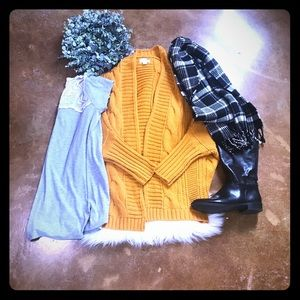 LA Hearts Cable Knit Cardigan